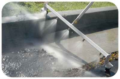 Watersweeper water broom the ultimate way to clean up - Turn garden hose into pressure washer ...